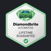 Diamondbrite guarantee stamp